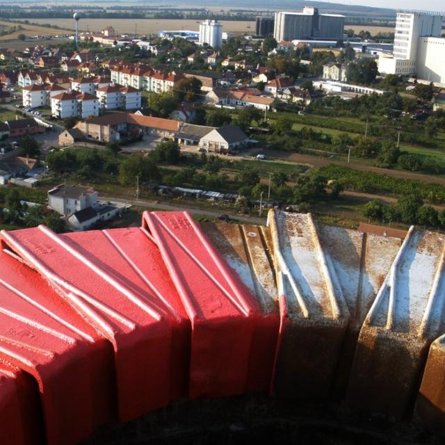 Čištění továrních komínů - RAPEL.CZ