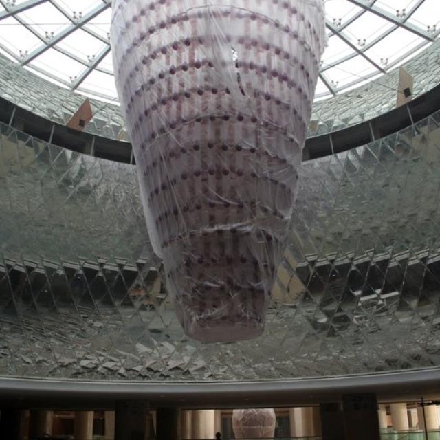 Montáž skleněných lustrů