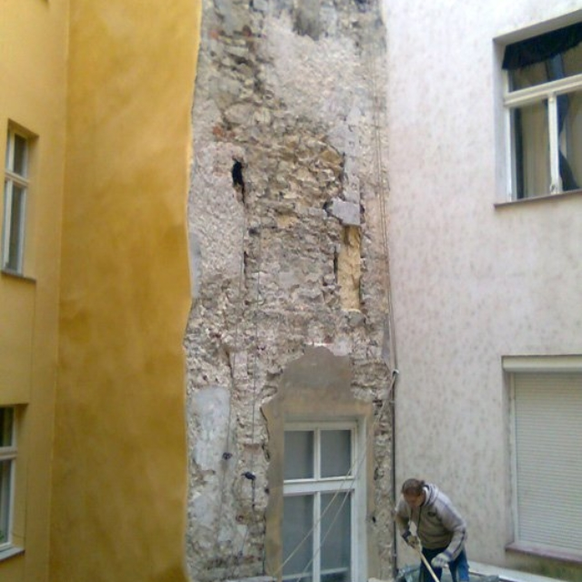 Oklepání omítek Jablonec nad Nisou - RAPEL.CZ