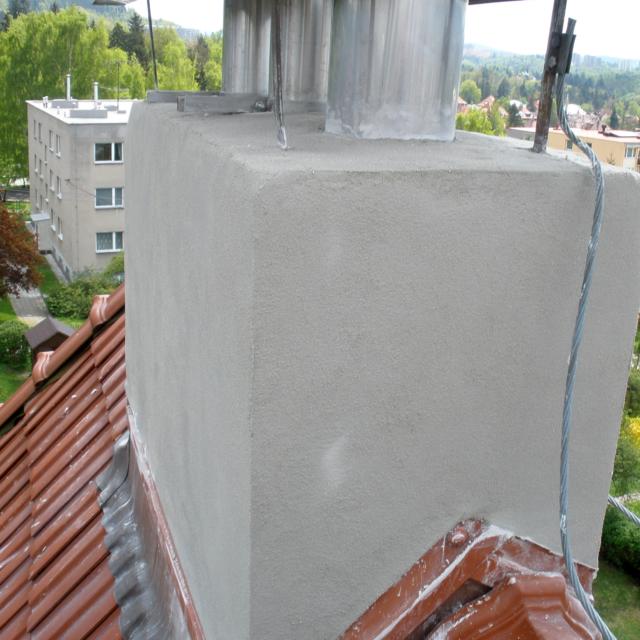 Oprava cihlového komínu Jablonec nad Nisou - RAPEL.CZ
