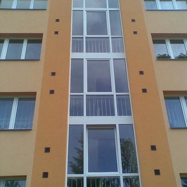 Spárování budov - RAPEL.CZ
